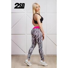 2SD лосины - Zebra leggins (size: S)