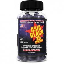 Cloma Asia Black 100 caps
