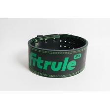 Ремень пауэрлифтерский FitRule с пряжкой зацепом (L)