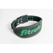 Ремень FitRule 3-х слойный атлетический 12 см (L)