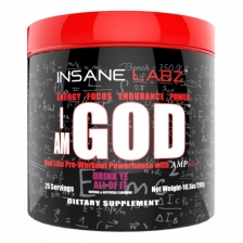 Insane Labz I am GOD 290 g (25 serv)