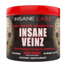 Insane Labz Insane Veinz  147 g (35 serv)