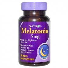 NATROL Melatonin 5 мг 60 табл.