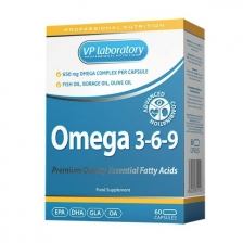 VPLab Omega 3-6-9 60 caps (срок до 09/19)