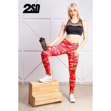 2SD лосины -  military red (size: xs)