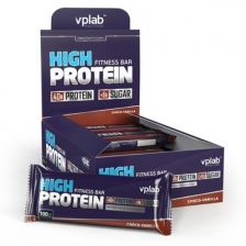 VPLab High Protein Fitness Bar 100g (x12)