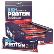 VPLab High Protein Fitness Bar 50g (x20)