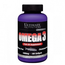 ULTIMATE Omega 3 (1000 mg) 180 softgels
