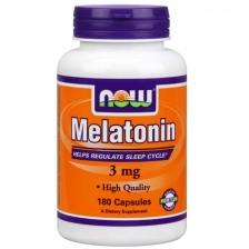 NOW Melatanin 3 mg 180 caps