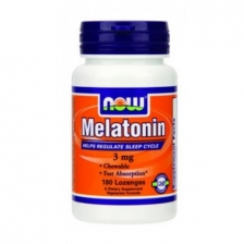 NOW Melatonin 3 mg 180 конфет