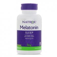 NATROL Melatonin 3 мг 180caps