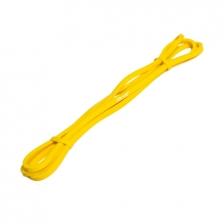 Резинка для фитнеса (эспандер) FitRule (1000см х 1см) (Желтый)