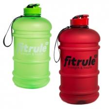 Бутыль FitRule прорезиненный крышка щелчок 2.2L