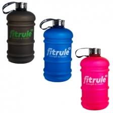Бутыль FitRule прорезиненный металлическая крышка 2.2L