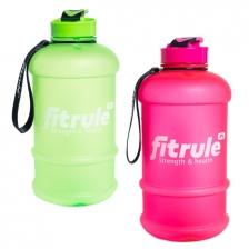 Бутыль FitRule прорезиненный крышка щелчёк 1,3L