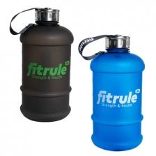 Бутыль FitRule прорезиненный металлическая крышка 1,3L