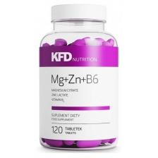 KFD Nutrition ZMA Mg+Zn+B6 120tab