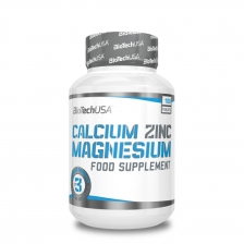 BioTech USA Calcium Zinc Magnesium 100 caps