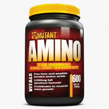 MUTANT AMINO Tablets 1300 mg 600tab