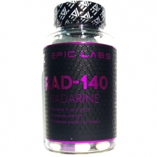 Epic Labs RAD-140 RADARINE 90 CAPS (модулятор андрогенных рецепторов)