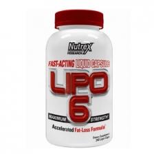 Nutrex Intl Lipo-6 120 caps