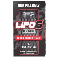 Nutrex Lipo-6 Black Ultra 60 caps