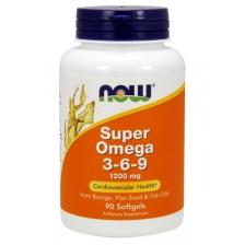 NOW Super Omega 3-6-9 1200mg 90caps