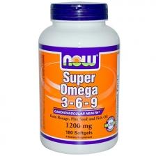 NOW Super Omega 3-6-9 1200mg 180caps