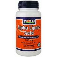 NOW Alpha Lipoic Acid 100mg 60caps