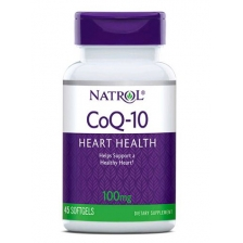 NATROL Co Q-10 100 мг 60 гел. капс. (срок 30.09.2019)