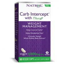 NATROL Carb Intercept 3 with Phase2® + Cr 3 60 капс.
