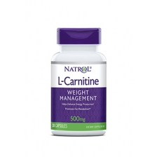NATROL L-Carnitine 500 мг 30 капс.