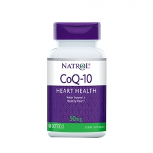 NATROL Co Q-10 50 мг 60 гел. капс.