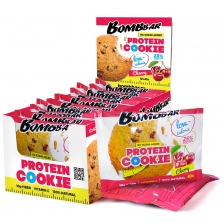 BombBar Protein Cookie Low Calorie 40 г шоубокс х12