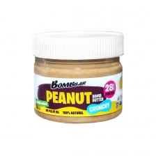 BombBar Peanut Bomb Butter Паста арахисовая хрустящая 300 г