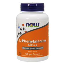 NOW L-Phenylalanine 500 mg 120 caps