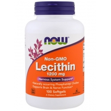 NOW Lecithin 1200 mg 100 caps