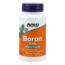 NOW BOR 3 mg 100 caps