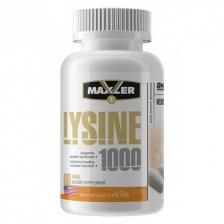 Maxler Lysine 1000 60 tabs