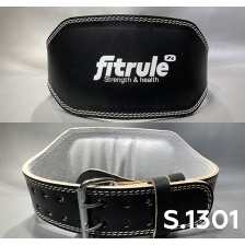 Ремень FitRule Leather weight lifting belts 6 inch wide art:  1301