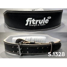 Ремень FitRule Leather weight lifting belts 4 inch wide art:  1328