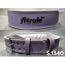Ремень FitRule Leather weight lifting belts 4 inch wide art:  1340