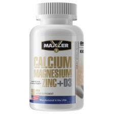 Maxler Calcium Zinc Magnesium + D3 90 tabs
