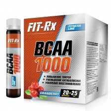 FIT-Rx BCAA 1000 20x25ml