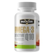 Maxler Omega-3 Coenzyme Q10 60 caps