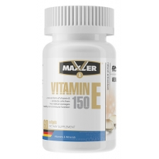 Maxler Vitamin E Natural form 150mg 60 softgels