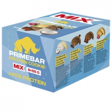 Primebar Protein Cookie 55 г шоубокс х8
