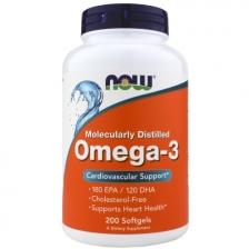 NOW Omega-3 1000 mg 200 caps