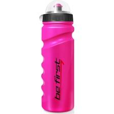 Be First Бутылка для воды 750 мл с крышкой, розовая