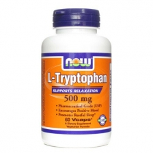 NOW L-Tryptophan 1000 mg 60 caps